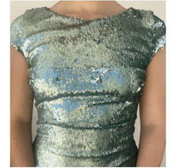 Vestido Paetê Zara - 14 anos - Zara