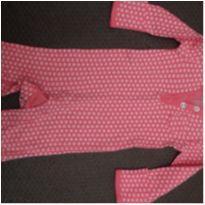 Macacão Carter`s RN pink - Recém Nascido - Carter`s