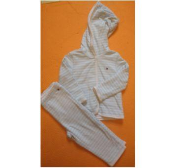 Conjunto inverno Tommy dupla face - 6 a 9 meses - Tommy Hilfiger