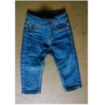 Calça jeans com elastano - 9 a 12 meses - Alakazoo!