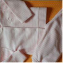 Conjunto quentinho soft RN (casaquinho + calça) - Recém Nascido - yoyo Baby