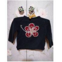 Malha de flor bordada - 9 a 12 meses - Zara
