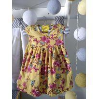 Vestido florido - 3 a 6 meses - KAIANI