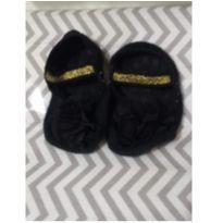 Meia sapatilha com antiderrapante - 6 a 9 meses - Renner e Accessories
