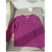 Blusão de lã - 9 a 12 meses - Vira e Mexe