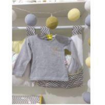 Blusa manga longa - 6 a 9 meses - Livy