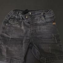 Bermuda Jeans Preta 1 ano