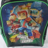 Lancheira escolar minecraft pixel crash