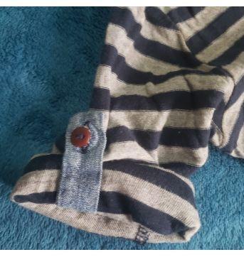Camisa Zara infantil listrada - 12 a 18 meses - Zara Baby