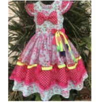 Vestido festa Junina 2 anos - 2 anos - Sem marca