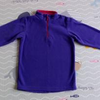 Blusa em fleece Quechua tam 6 (serve 5 a 6 anos)