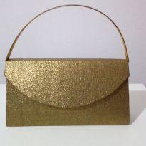 Bolsa de festa dourada - Sem faixa etaria - Nacional