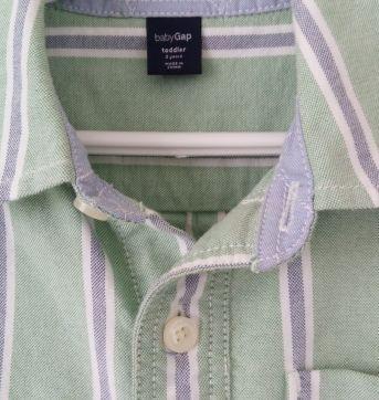 Camisa GAP tam 3 grande - 3 anos - GAP