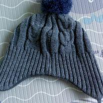 Gorro / Touca forrado com fleece serve 2 anos - 2 anos - Teddy Boom