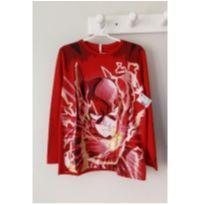Nova - Camiseta do Flash tam 7-8 anos - 7 anos - Justice League