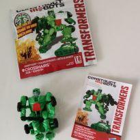 Transformer de montar - 18 peças - carro/robo -  - Hasbro