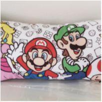 NOVA- Almofada do Super Mario 40 cm x 20 cm -  - Riachuelo