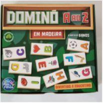 NOVO - Domino do A ao Z em madeira -  - Pais e Filhos