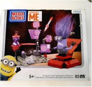 Brinquedo Mega bloks Minions de montar - Sem faixa etaria - Mega Bloks