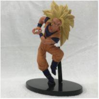 Action Figure Super Saiyan 3 Son Goku Dragon Ball 20 cm -  - Não informada