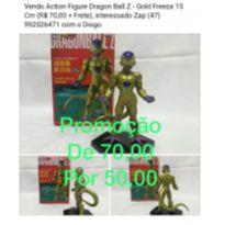 action figure dragon ball z gold freeza 15 cm -  - Não informada
