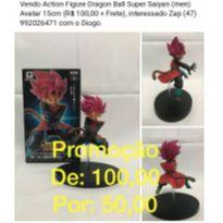 Dragon Ball Super Saiyan (men) Avatar 15cm -  - Não informada
