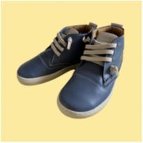 Botinha de couro azul - 31 - Blue Infantis