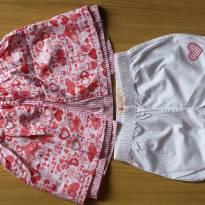 Conjunto vermelho e branco Coração - 9 a 12 meses - Baby Club