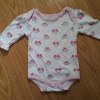 Body borboletinhas BonBebé 3 a 6 meses - 3 a 6 meses - bon bébé