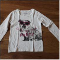 Camiseta OshKosh 4 cachorro - 4 anos - OshKosh