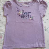 Camiseta lilás OshKosh 3t - 4 anos - OshKosh