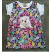 Camiseta candies 6 Rolú - 5 anos - Rolú