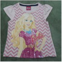 Camiseta Barbie 4 - 4 anos - Barbie