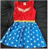 Vestido Mulher Maravilha 6 - 4 anos - marisa