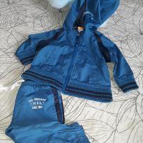 Agasalho tactel blusa e calca - 6 a 9 meses - Marisol