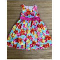 vestido tafeta festa - 6 anos - American Princess