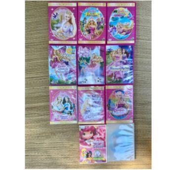 10 dvds originais  + 1 DVD da frozen - Sem faixa etaria - Disney