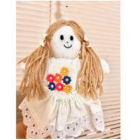 3 bonecas  Pingentes Cortina  bebe -  - Não informada