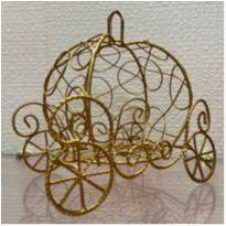 Carruagem  Decoração Princesa Cinderela -  - Não informada