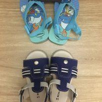 Kit sandália e chinelo - 19 - Havaianas e Riachuelo
