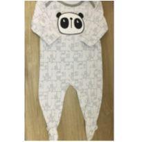 Macacão no tema panda - 9 a 12 meses - Tex