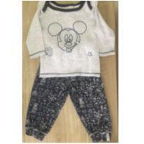 Conjunto Mickey - 9 a 12 meses - Disney baby