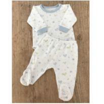 Pijama Babycottons bichinhos - 0 a 3 meses - Baby Cottons