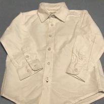 Camisa manga longa em sarja - 2 anos - Children`s Place