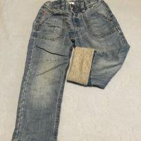 Calça jeans forrada - 4 anos - Palomino