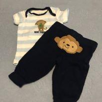 Conjunto camiseta manga curta + calça - Recém Nascido - Child of Mine