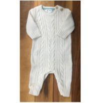 Macacão tricot - 0 a 3 meses - Cherokee