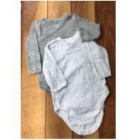 Conjunto 2 bodies kimono - 0 a 3 meses - Carter`s