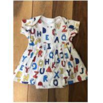 Vestido ABC - 3 a 6 meses - Bebê Básico