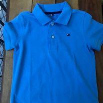 Polo Tommy azul - 5 anos - Tommy Hilfiger